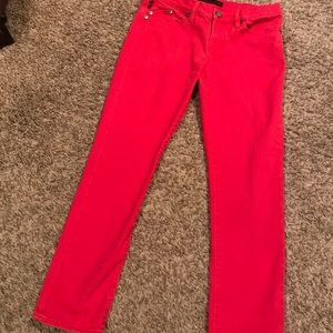 Rock & Republic red skinny jeans. Size 6